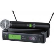 Set microfon si receiver wireless Shure SM58 SLX4