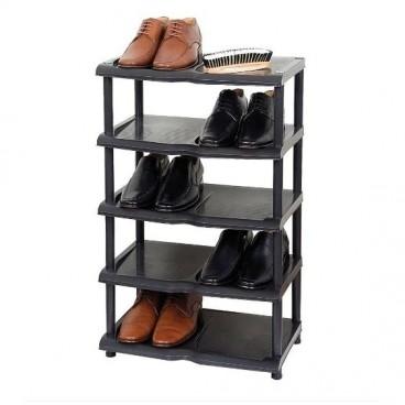 Raft pantofi, 5 nivele, dimensiune 47x29x74 cm
