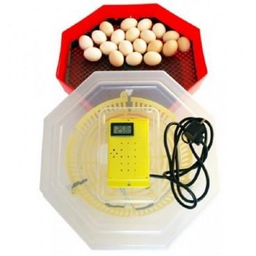 Incubator electric , ERT-MN 9051, Temperatura incubare 38 grade, Capacitate 60 oua gaina, cu Termometru