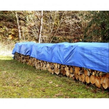 Prelata impermeabila pentru gradina, inele forjate, 90 gr/mp. 4x4 METRI
