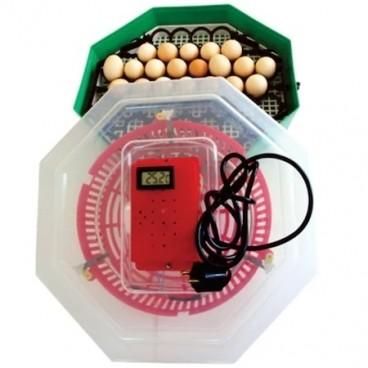 Incubator electric , ERT-MN 9054, Temperatura incubare 38 grade, Capacitate 41 oua gaina, Dispozitiv intoarcere oua si Termostat